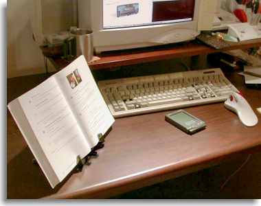 reference books, software manuals, quote sources . . .